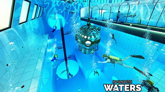 1 deepest pool of the world DeepSpot